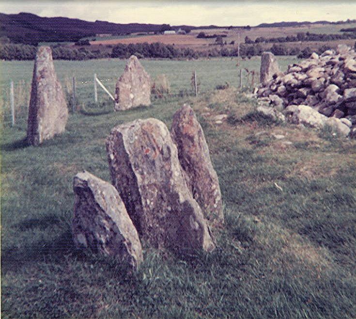 Stone Circle at Corrimony, Glen Urquhart