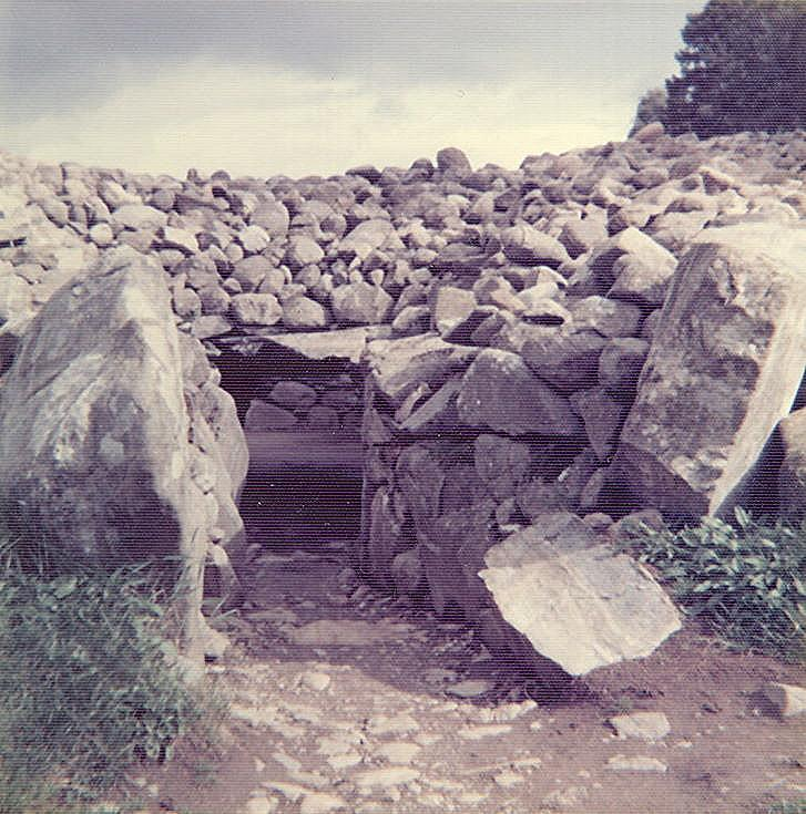 Chambered Tomb at Corrimony, Glen Urquhart ~ Passage