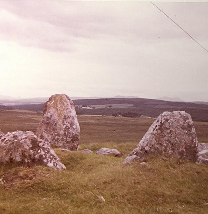 Chambered Tomb at The Ord, Lairg ~ Chamber of Cairn
