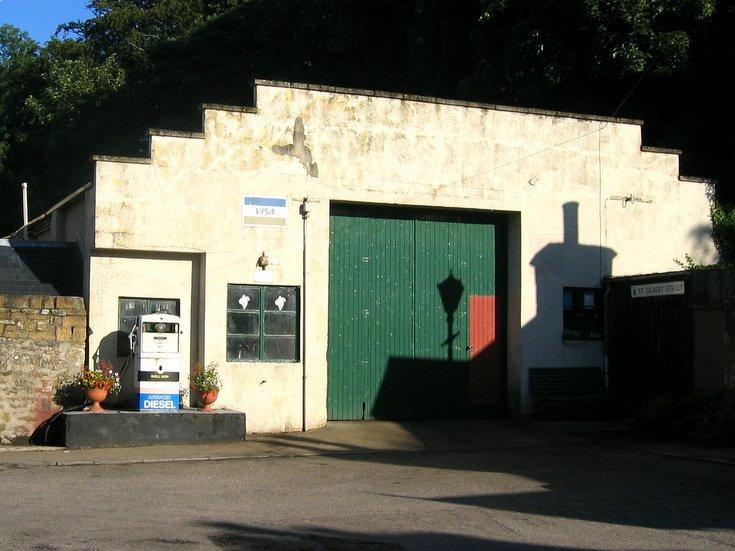 Garage in St Gilbert's Street, Dornoch