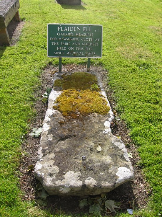The Plaiden Ell, Dornoch Cathedral churchyard