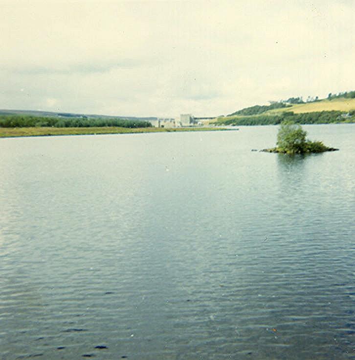 Crannog, east end of Loch Shin
