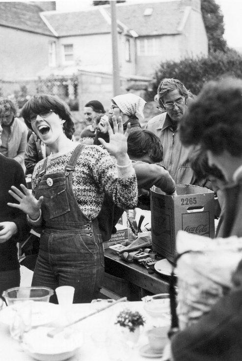 Dornoch Festival week stall at street fair