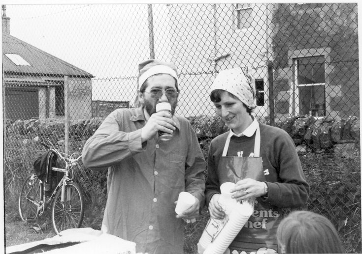 Refreshment stall Dornoch Festival week