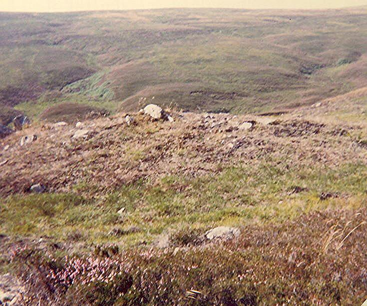 Chambered Cairn at Learable Hill ~ East Slope