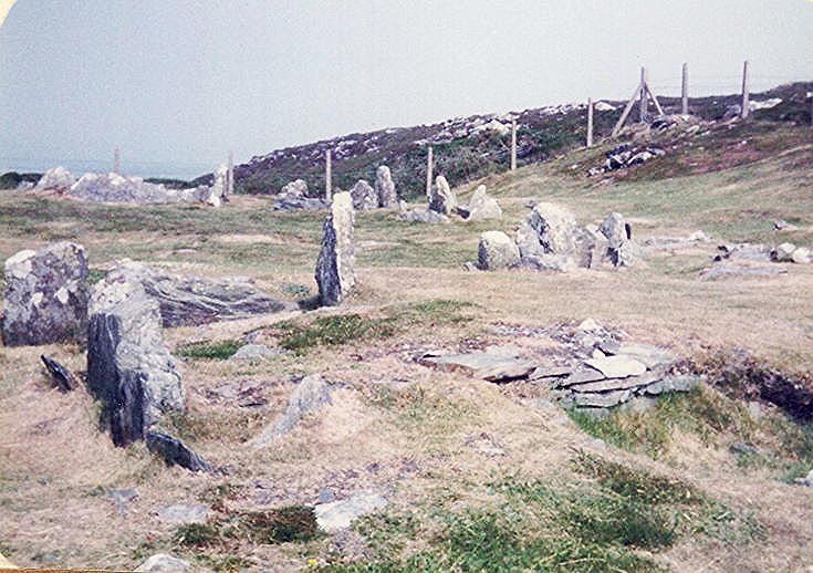 Chambered Tombs at Meayll Circle, Rushen, Isle of Man