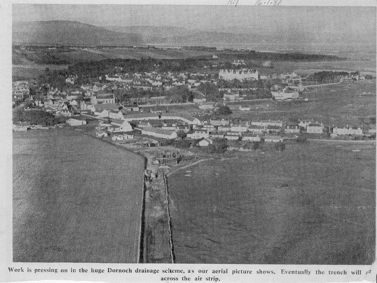 Dornoch drainage scheme 1981