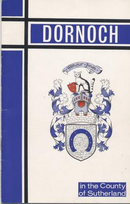 Dornoch information guide c 1970