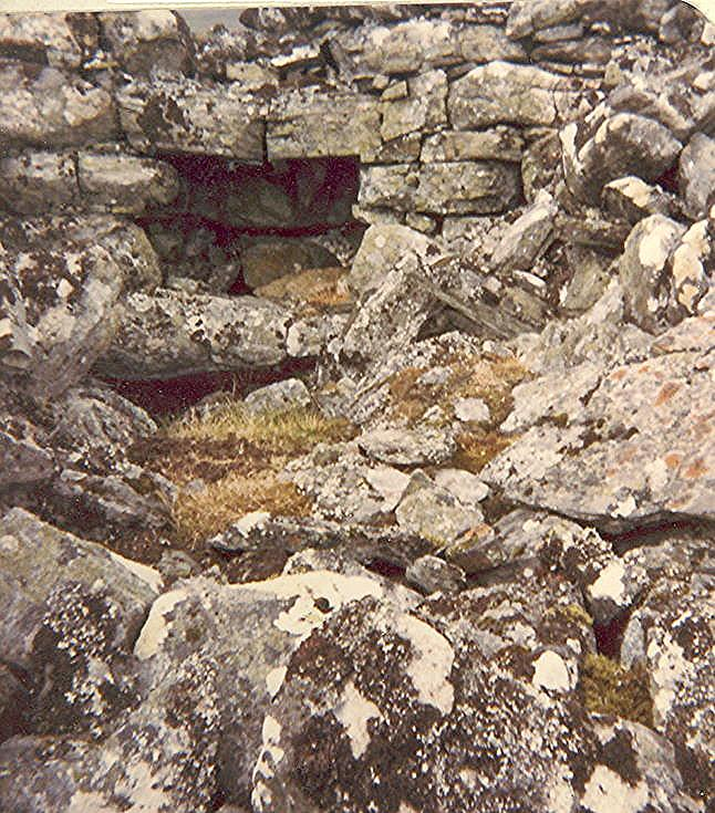 Broch at Ferenach, Borrobol ~ One chamber of six