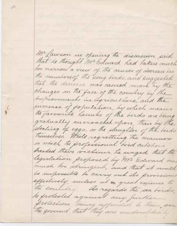 Notes on wild birds 1881