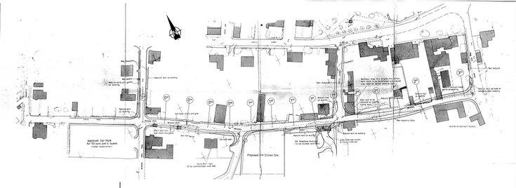 Dornoch Traffic Management Meadows Road 1982