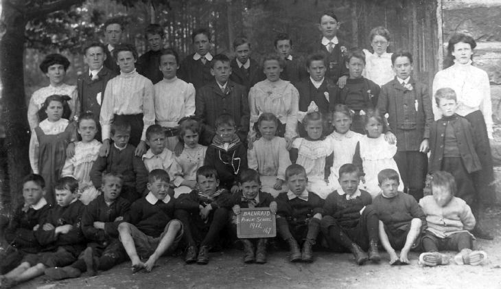 Balvraid Public School photograph 1912