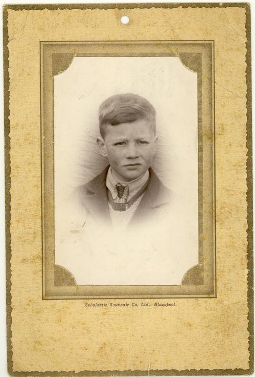 Duncan Matheson at Balvraid School c 1936
