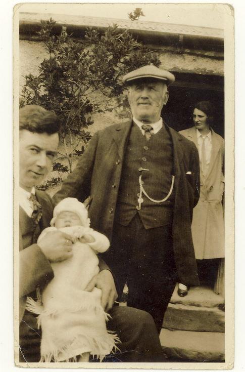 William, James and Duncan Matheson c 1925