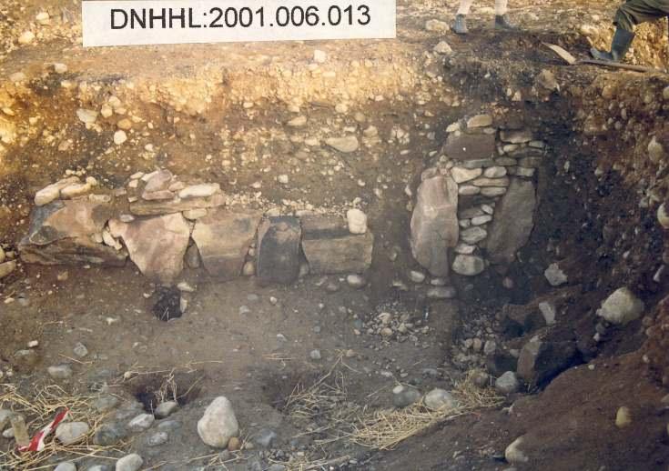 Cyderhall souterrain dig