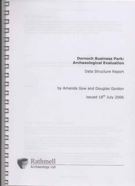 Dornoch Business Park Archaeological Evaluation Report