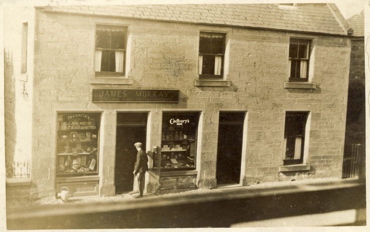 James Murray's shop Castle Street, Dornoch