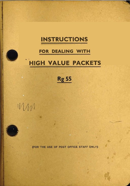 Instructions for dealing with High Value Packets