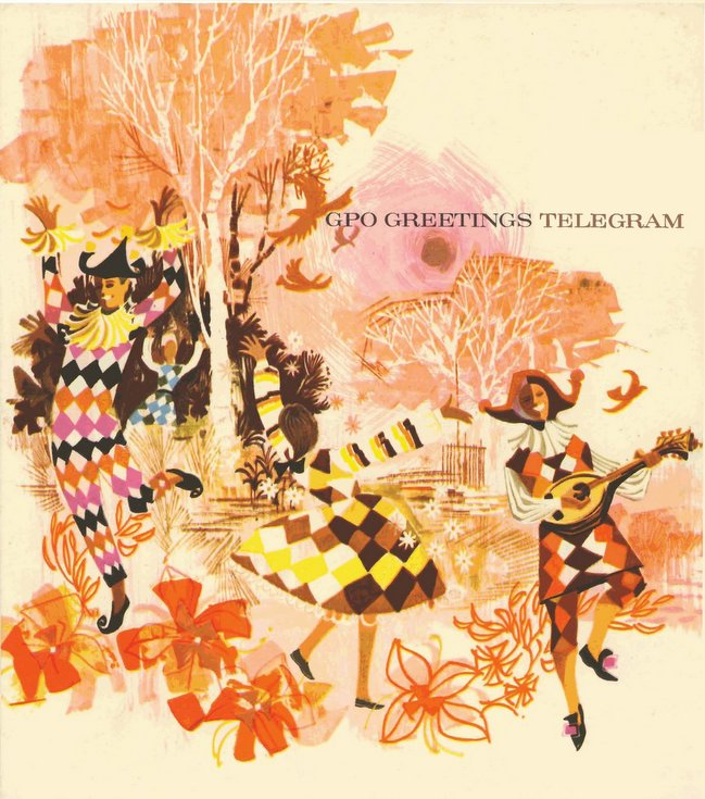 Greetings telegram card