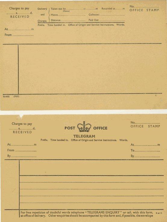 Telegram forms