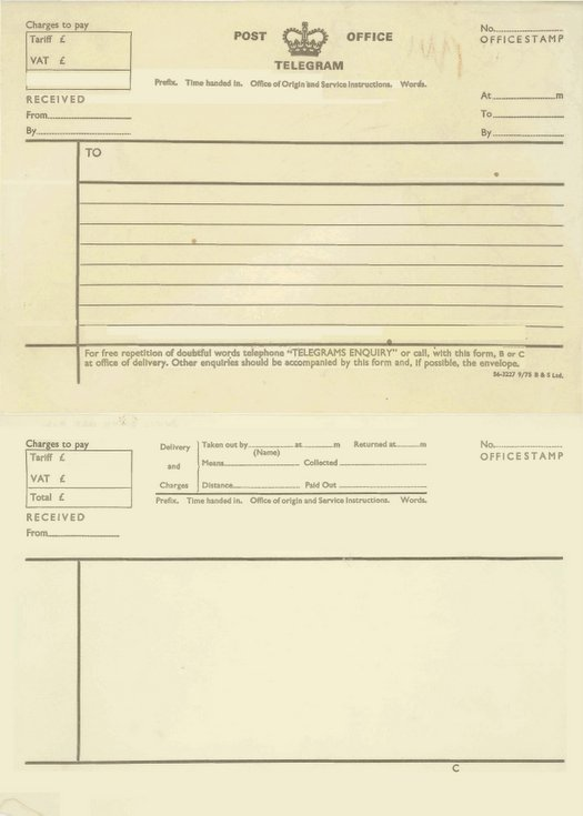 Telegram forms