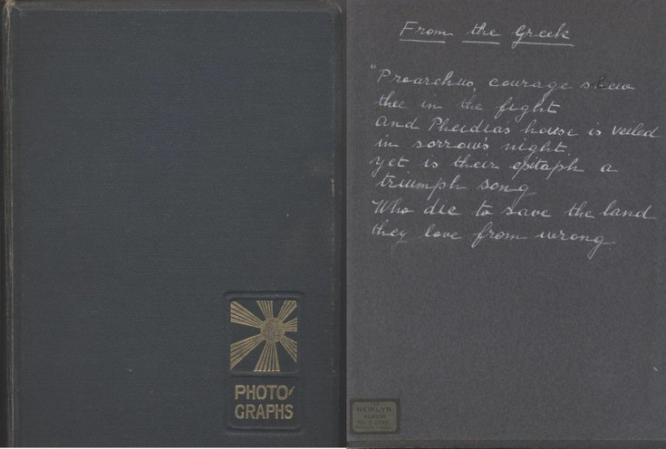 Photograph album of  Capt. Ronald Hugh Walrond Rose
