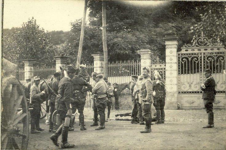 La Ferte Sous Jouarre ~ French & English troops