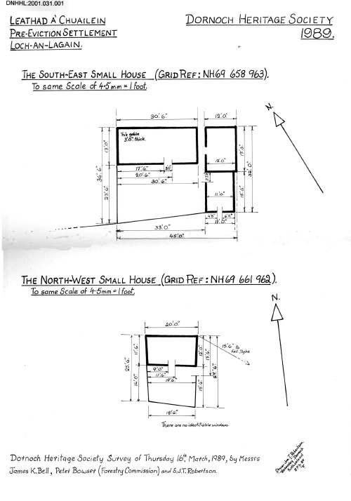 Leathad a' Chuailein house plans