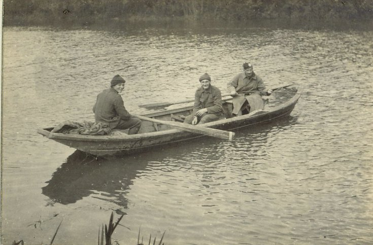 Fishing on the Aisne