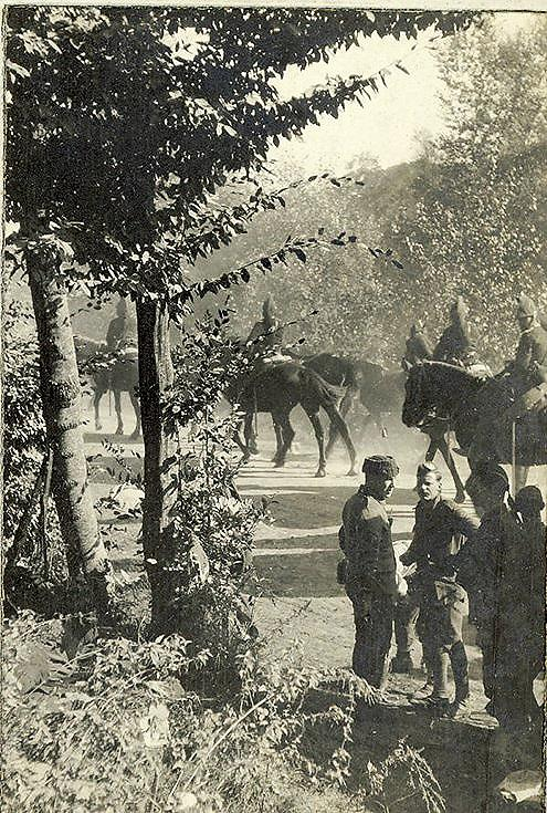 French Cavalry on the march