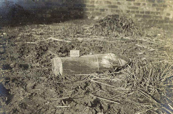 An unexploded 'Johnson'