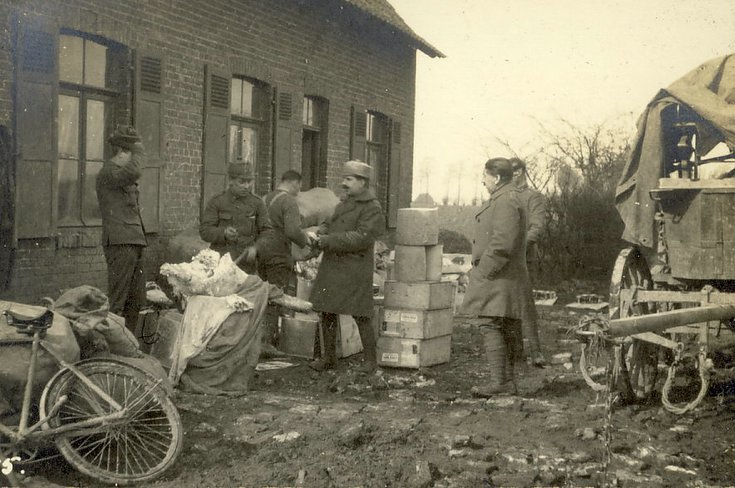 Rations at Quartermaster's Stores
