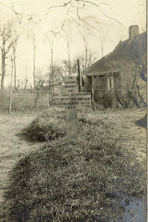Richard Graham's grave, died 10/01/15