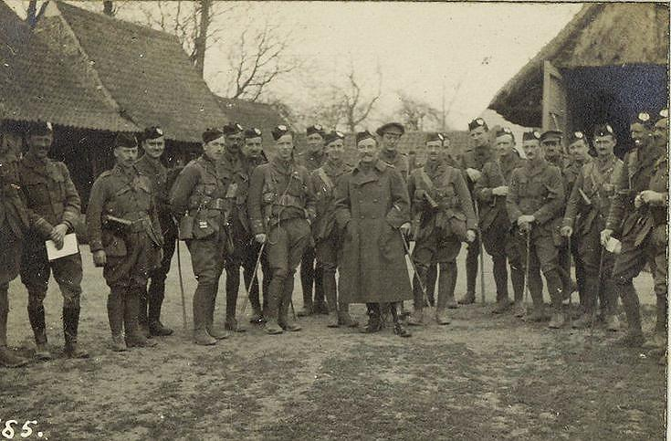 Col. Vandaleur with his officers