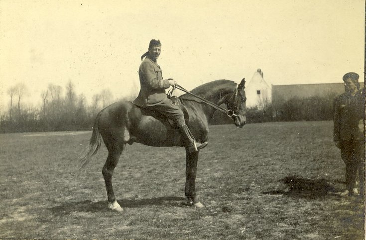 Mounted Cameronian Officer