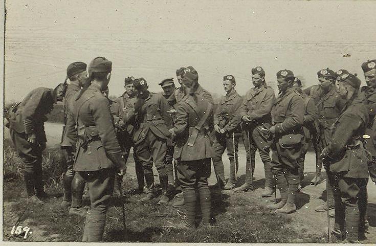 Officers' briefing
