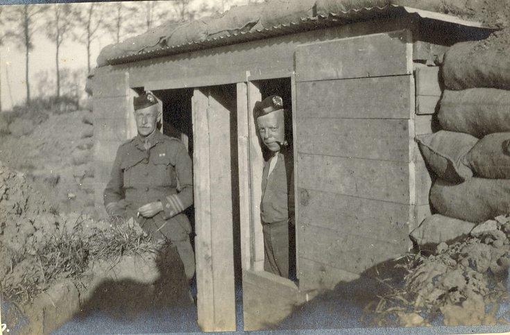 The new bedrooms ~ Col. Robertson, Major Chaplin