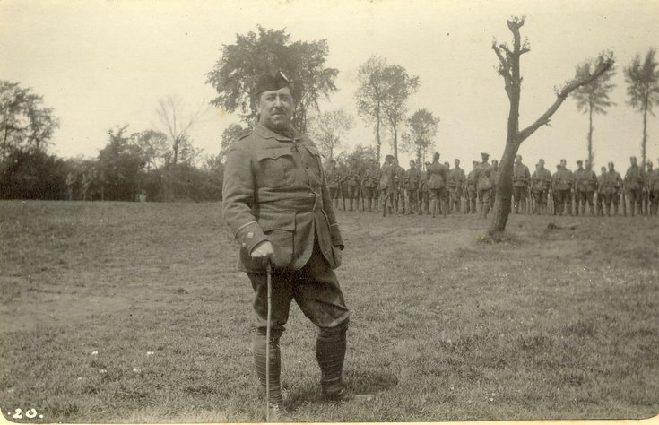 Quarter Master Lieutenant Wood