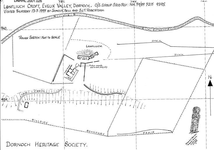 Lonfliuch croft location plan