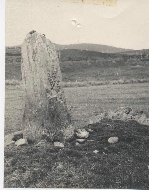 Standing stone at Invershin