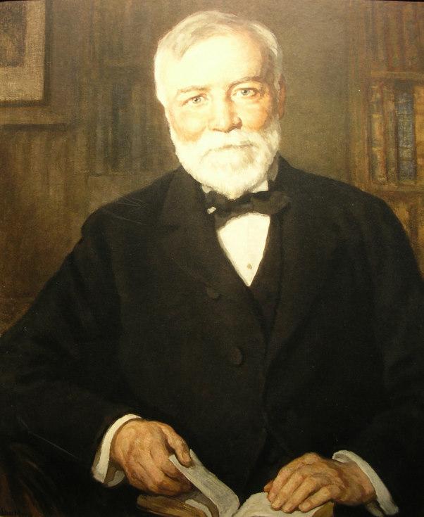 Portrait of Andrew Carnegie 1935
