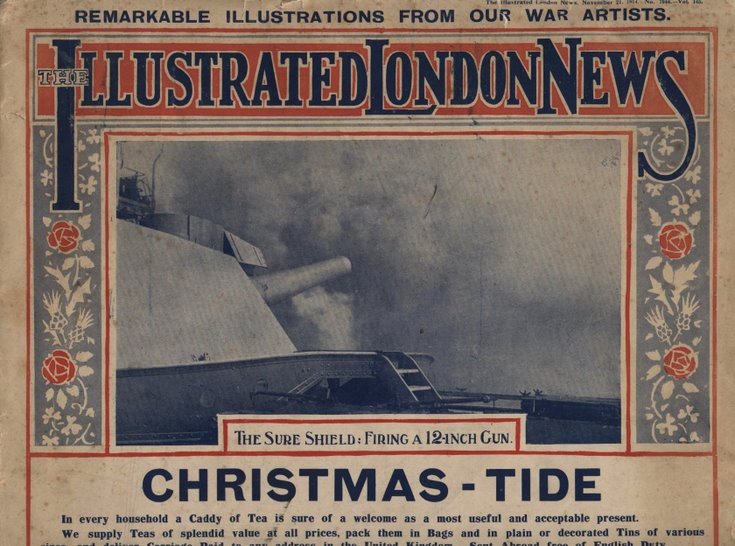 Banner page Illustrated London News Listing  Nov 21 1914