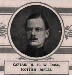 Photograph of Capt Rose from Illustrated London News