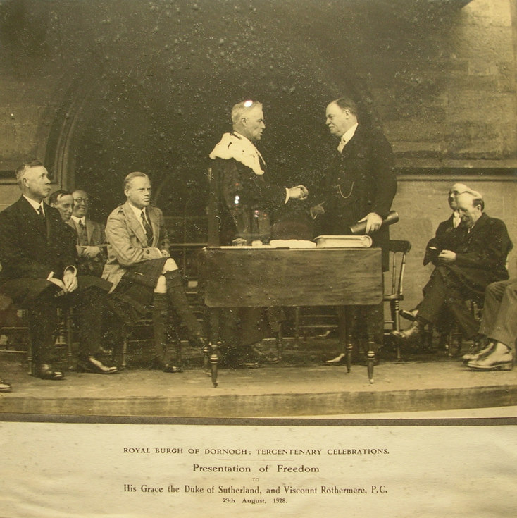 Freedom Ceremony 1928 Viscount Rothermere PC