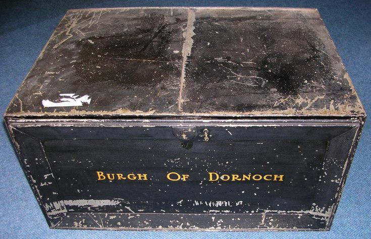 Dornoch Burgh document chest