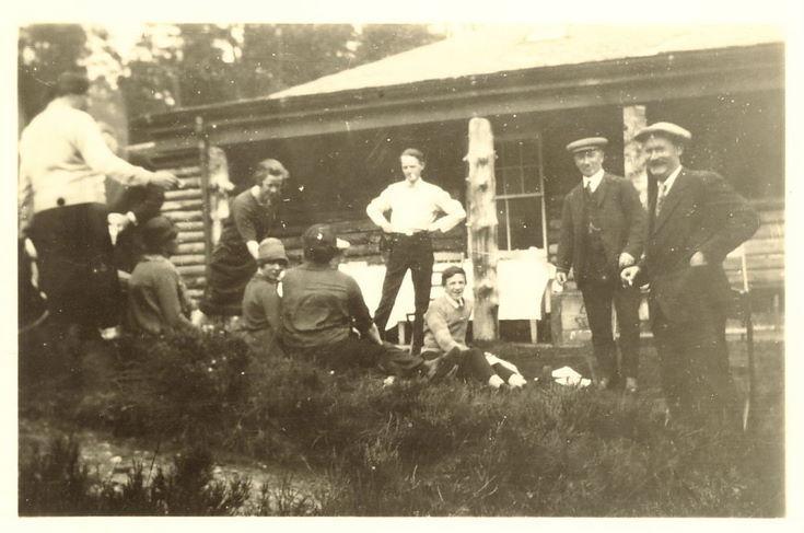 Group at Fairy Glen