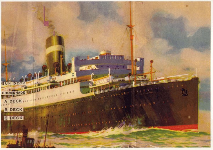 Information on the S.S .Athenia
