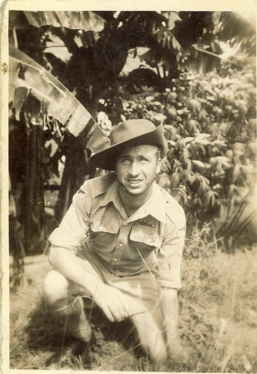 Kenneth Button Jnr of Embo in West Africa c 1943