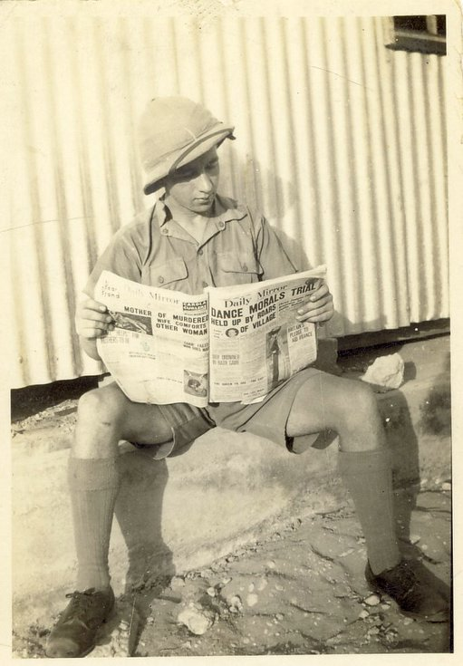 Kenneth Button of Embo in Egypt c 1941