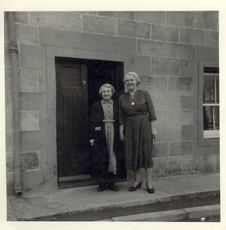 Margaret Button (nee Mackay) of Embo c 1930